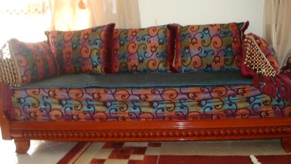 Photos canap en bois marocain for Canape en bois