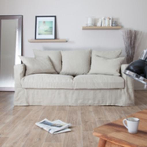 photos canap en lin pas cher. Black Bedroom Furniture Sets. Home Design Ideas