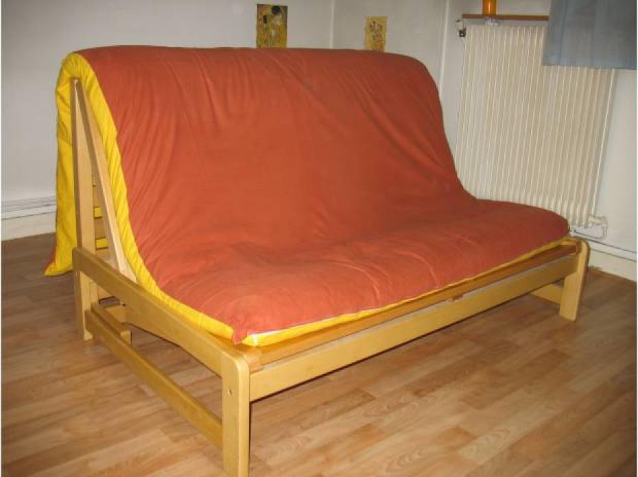 photos canap futon convertible pas cher. Black Bedroom Furniture Sets. Home Design Ideas