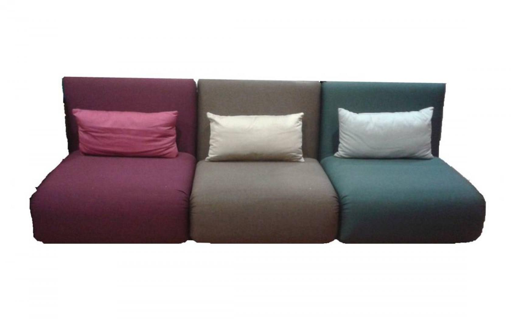 Canape futon 2 places for Lit une place convertible deux places