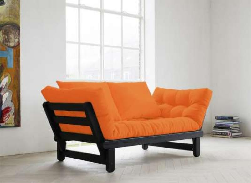 photos canap futon convertible 1 place. Black Bedroom Furniture Sets. Home Design Ideas