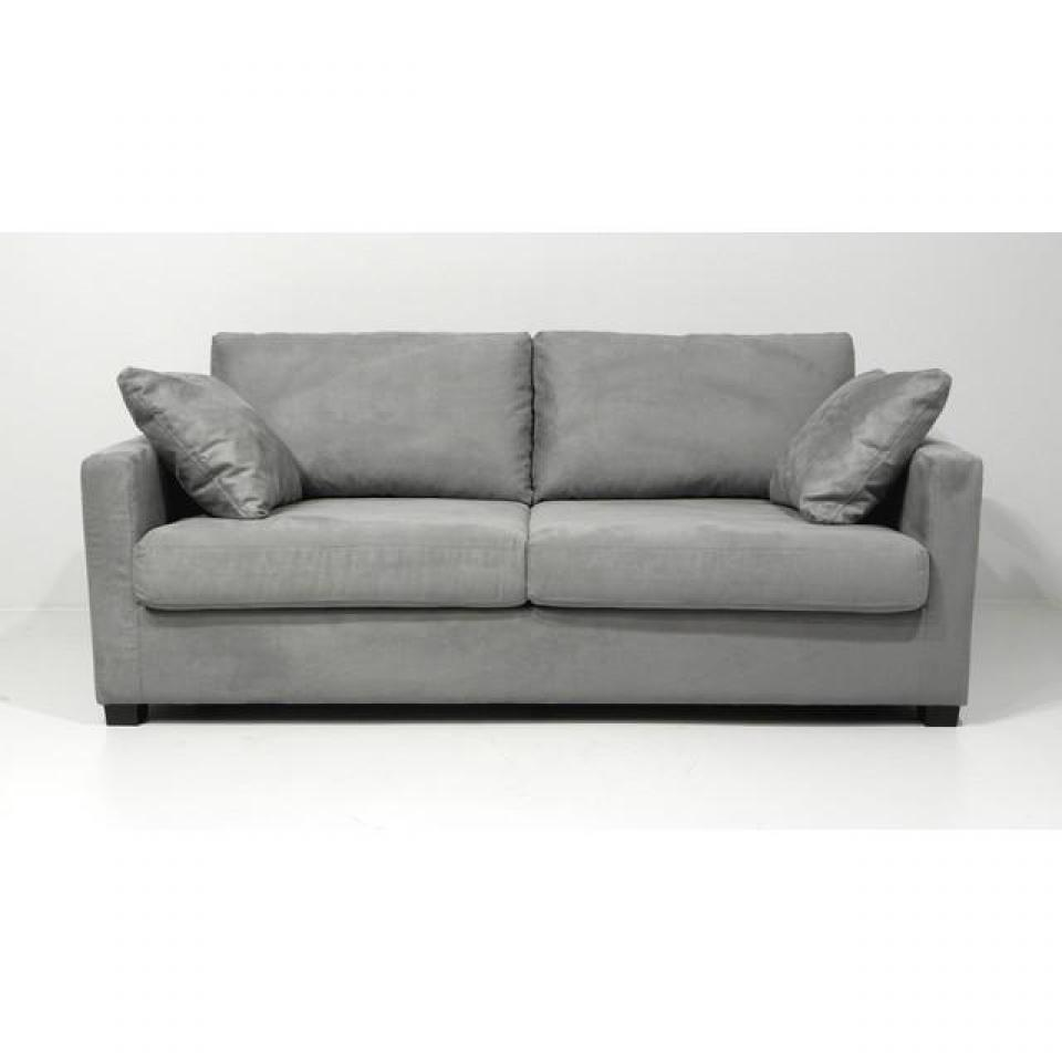 Photos canap gris clair convertible - Habitat canape convertible ...