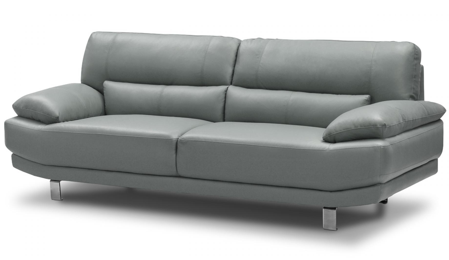 photos canap gris clair cuir. Black Bedroom Furniture Sets. Home Design Ideas