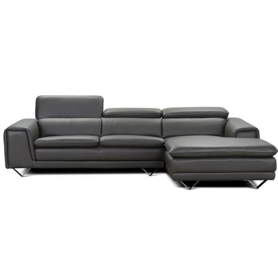 photos canap d 39 angle cuir gris. Black Bedroom Furniture Sets. Home Design Ideas