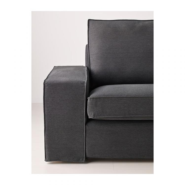 Photos canap kivik ikea 2 places gris for Canape 2 places gris