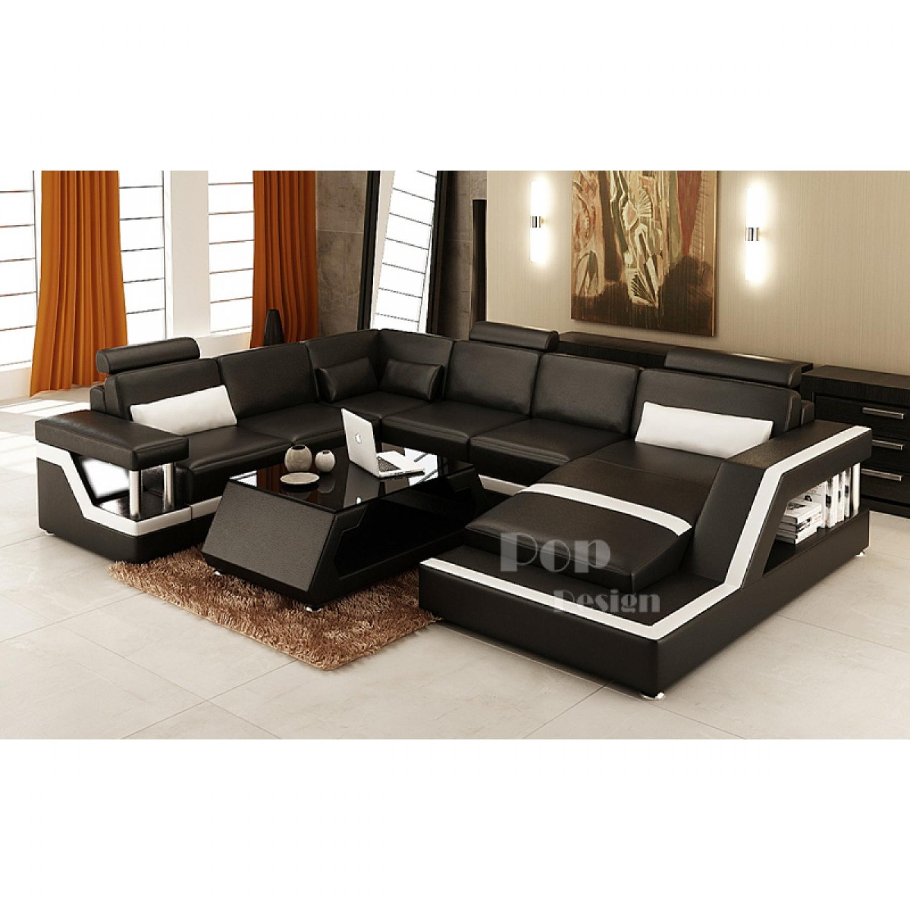 photos canap luxe cuir. Black Bedroom Furniture Sets. Home Design Ideas