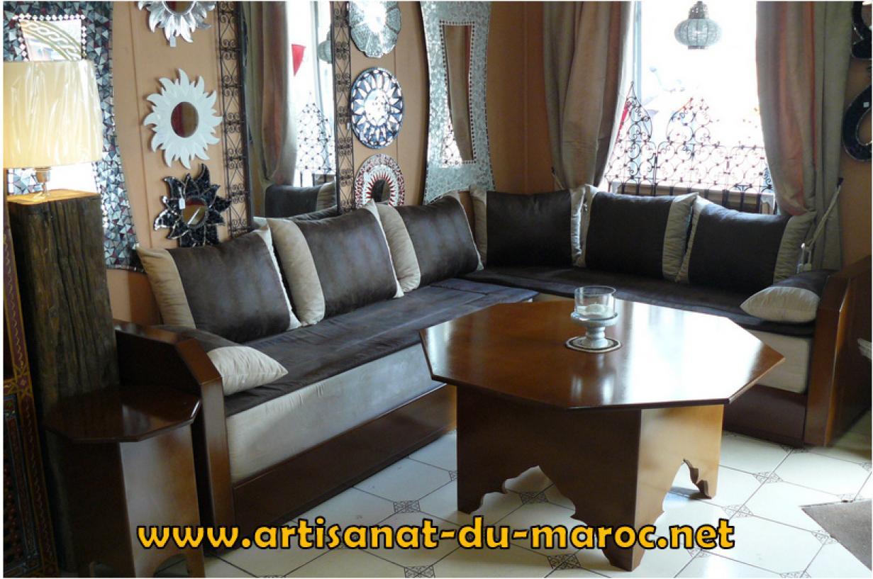 Canapé Marocain Design Cuir : Photos canapé marocain design cuir