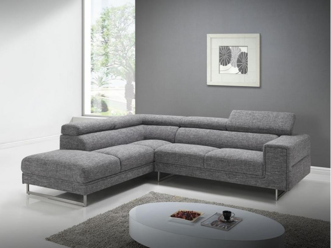 photos canap moderne gris. Black Bedroom Furniture Sets. Home Design Ideas