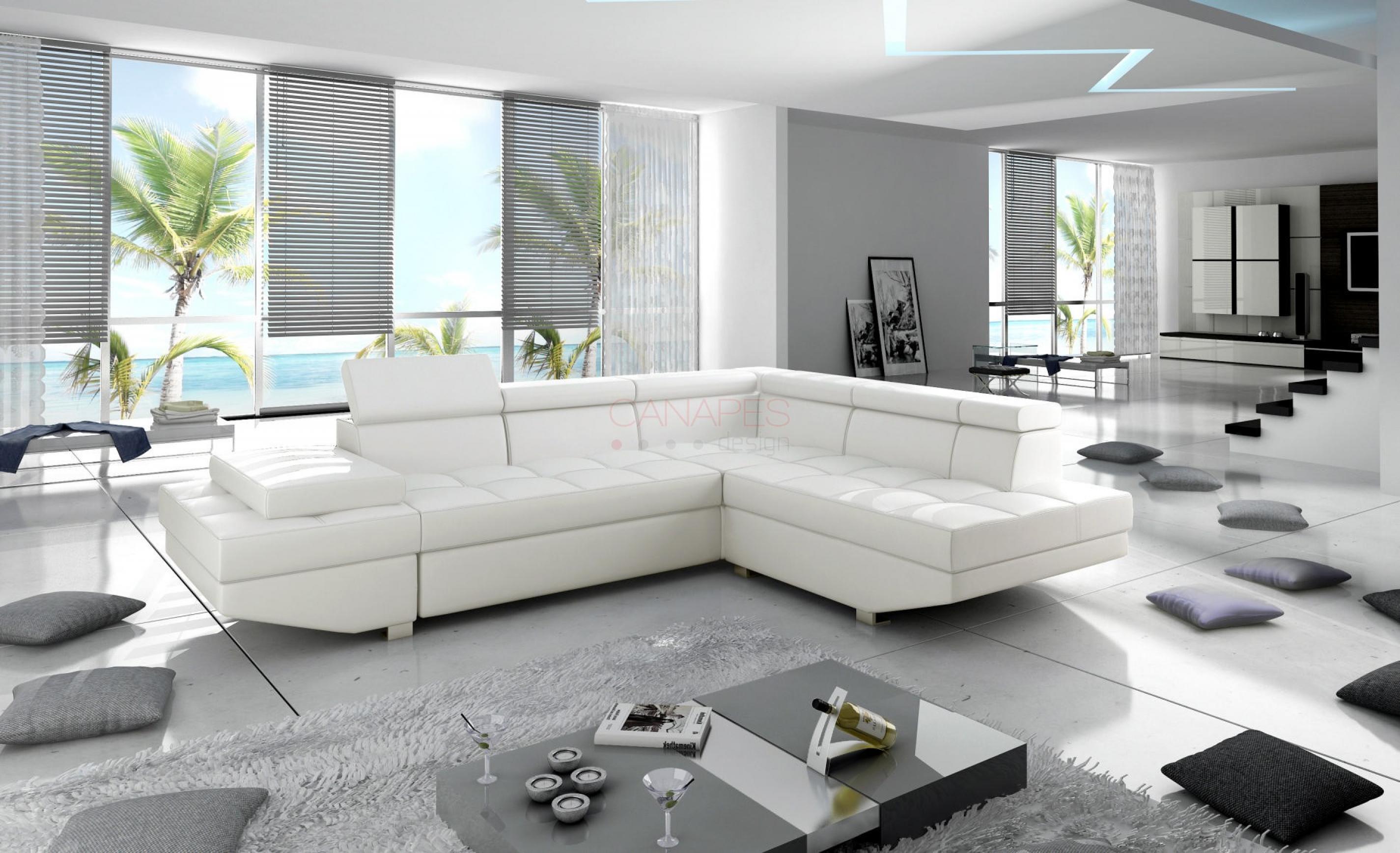 photos canap d 39 angle design convertible. Black Bedroom Furniture Sets. Home Design Ideas