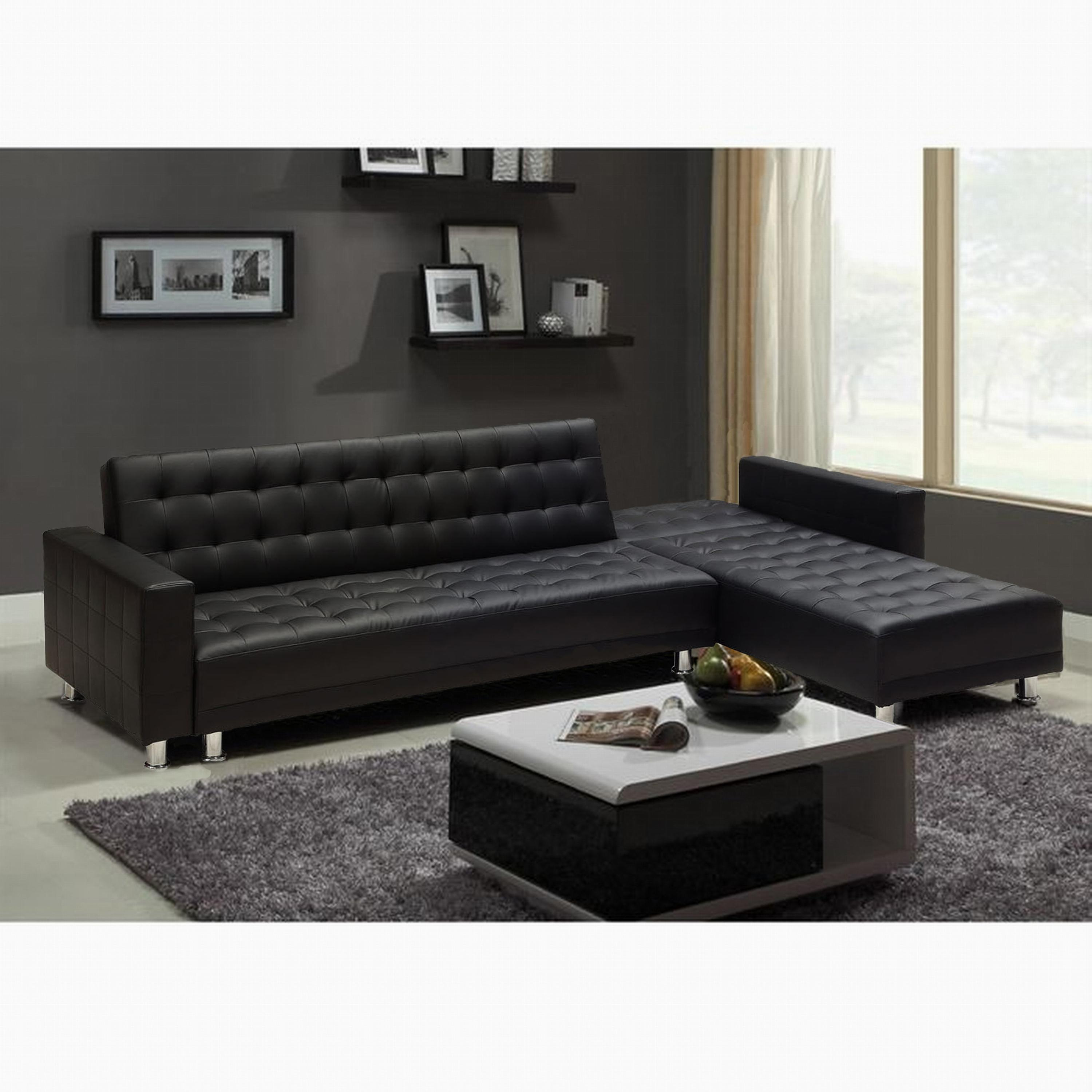 photos canap d 39 angle convertible pas cher simili cuir. Black Bedroom Furniture Sets. Home Design Ideas