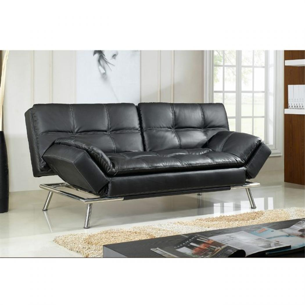 photos canap convertible pas cher simili cuir. Black Bedroom Furniture Sets. Home Design Ideas