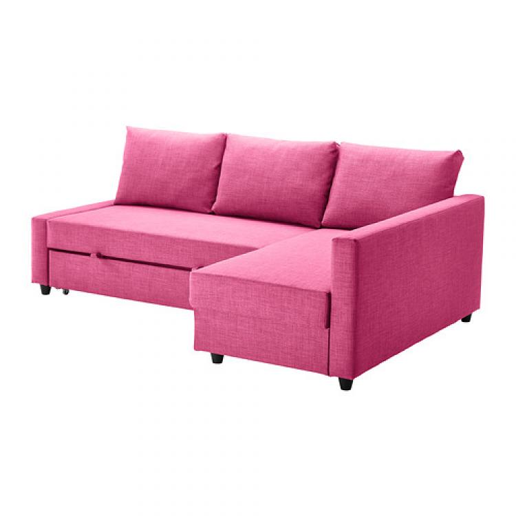 Photos canap convertible ikea rose - Canape convertible rose ...