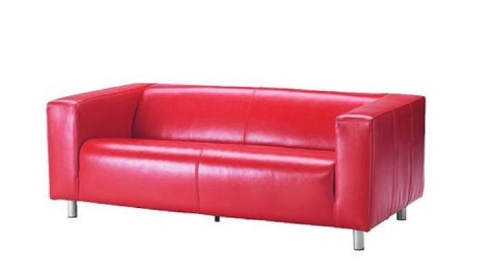 photos canap convertible ikea rose. Black Bedroom Furniture Sets. Home Design Ideas