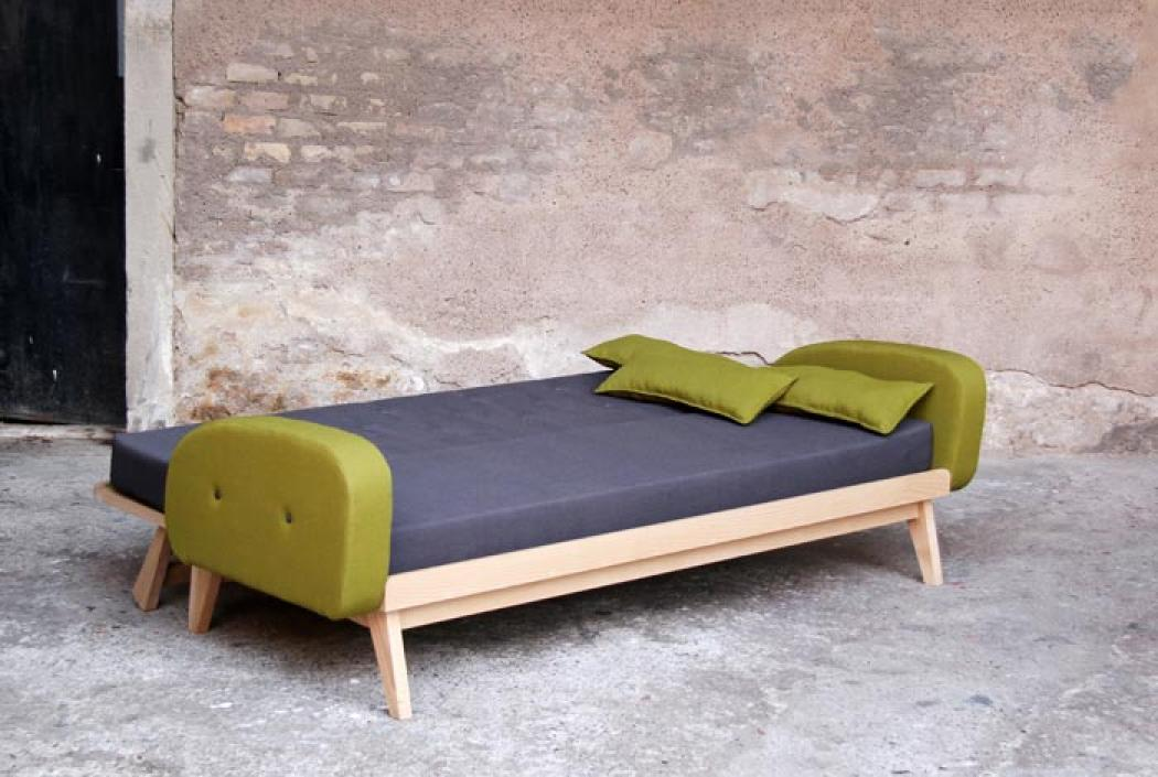 Photos canap convertible design scandinave - Canape 2 places scandinave ...