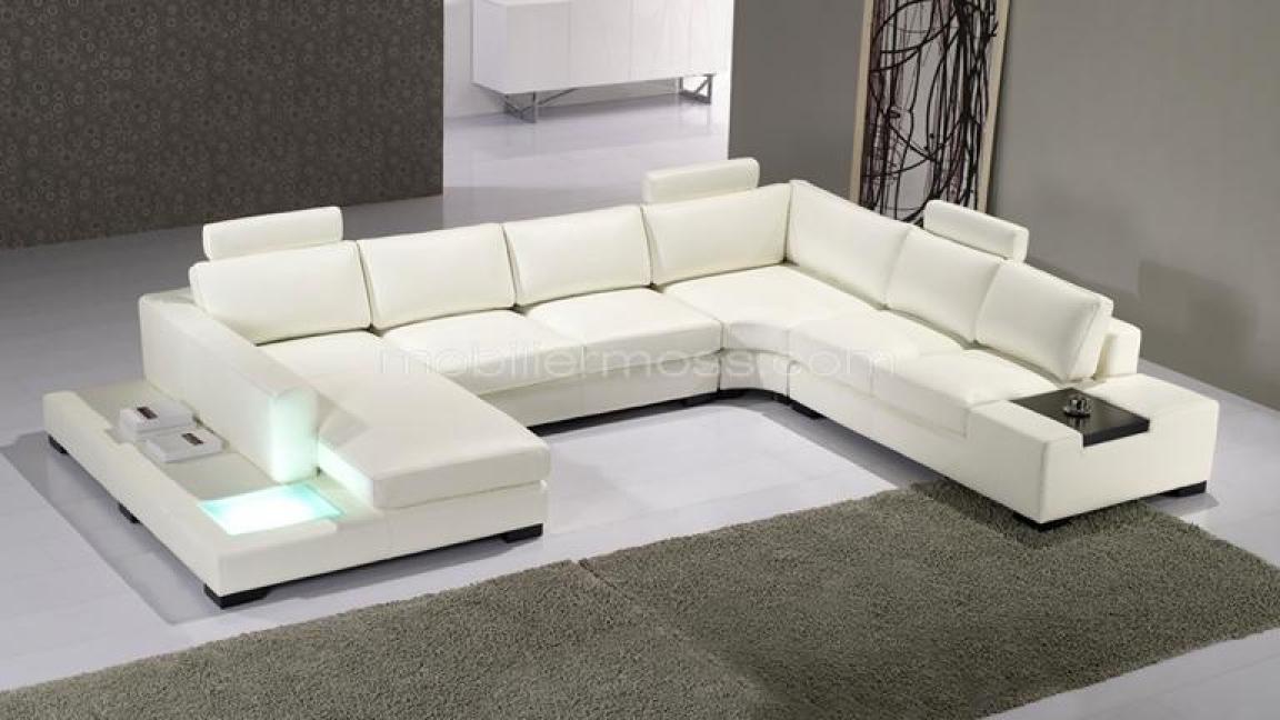 photos canap convertible design cuir. Black Bedroom Furniture Sets. Home Design Ideas