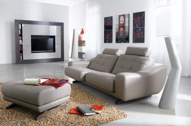 photos canap design cuir center. Black Bedroom Furniture Sets. Home Design Ideas