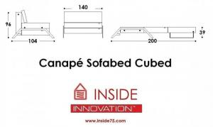 canapé lit design sofabed cubed 15