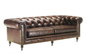 canapé chesterfield cuir convertible 18