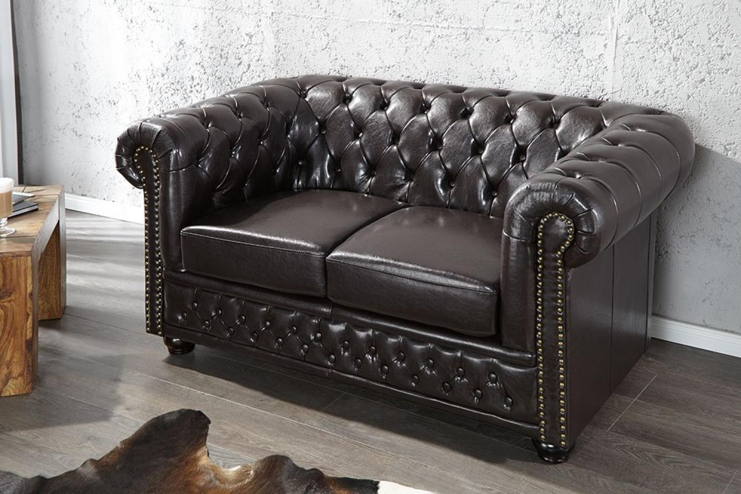Photos canap chesterfield convertible 2 places - Chesterfield 2 places cuir ...