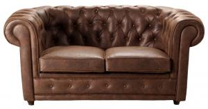 canapé chesterfield convertible 2 places 17