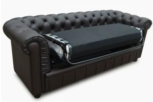 canapé chesterfield convertible d'occasion 11