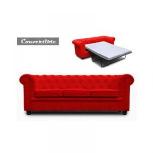 canapé chesterfield convertible d'occasion 13