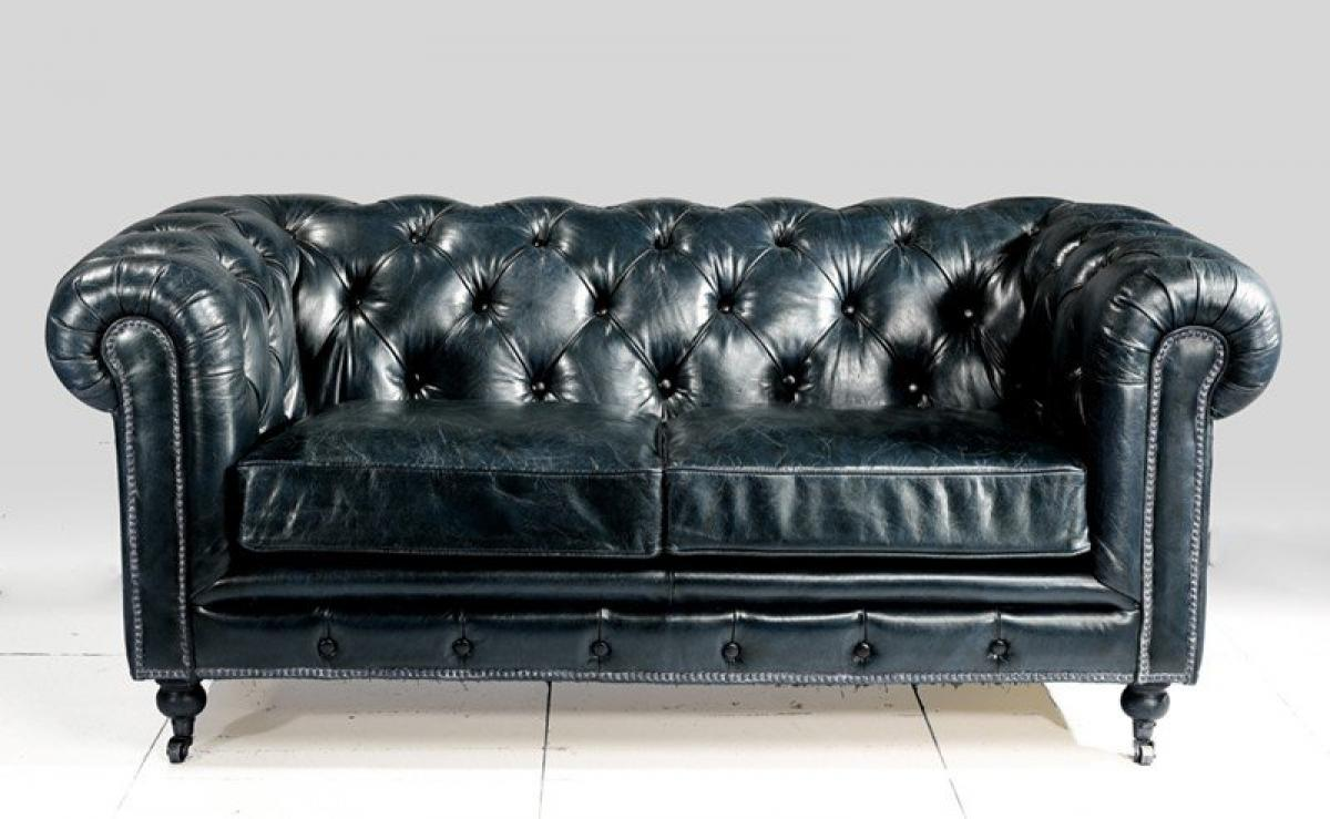 Photos canap chesterfield convertible cuir - Canape chesterfield cuir gris ...