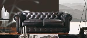 canapé chesterfield convertible cuir 12