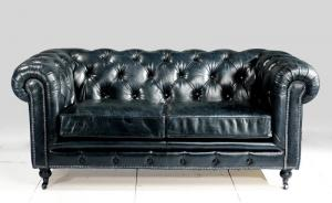 canapé chesterfield convertible cuir 15