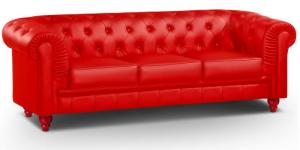 canapé chesterfield convertible 3 places 3