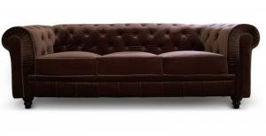 canapé chesterfield convertible 3 places 9
