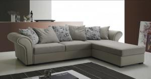 canapé chesterfield tissu gris 12
