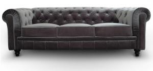 canapé chesterfield velours 3 places 15