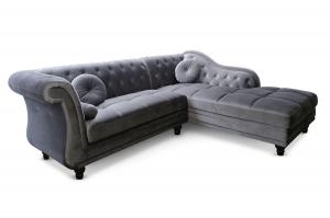 canapé chesterfield velours convertible 14