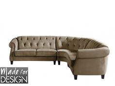 canapé chesterfield velours blanc 11