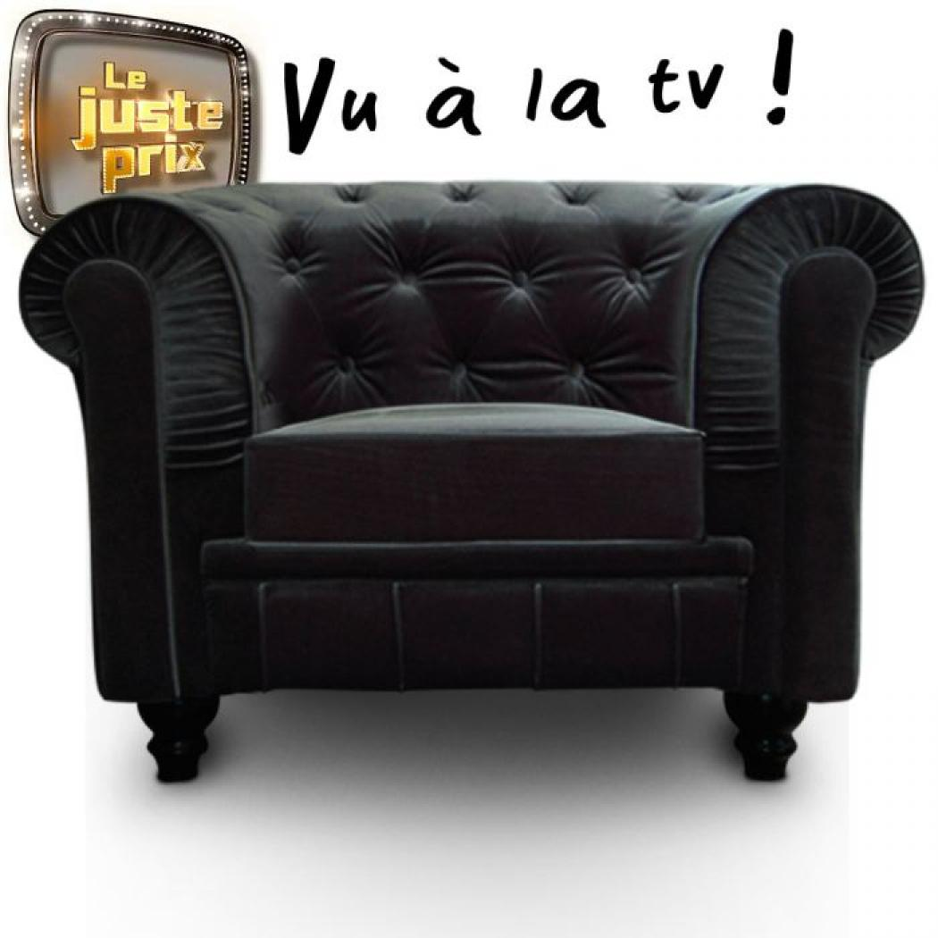 photos canap 233 chesterfield velours pas cher