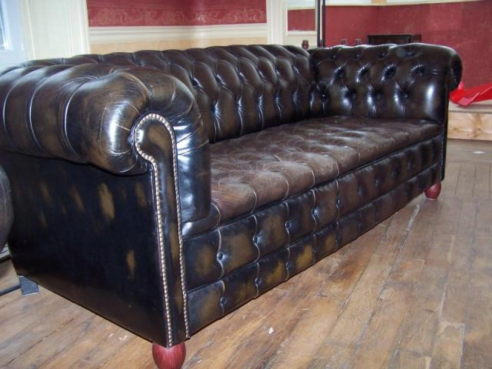 Canap chesterfield occasion belgique univers canap - Fauteuil chesterfield occasion ...