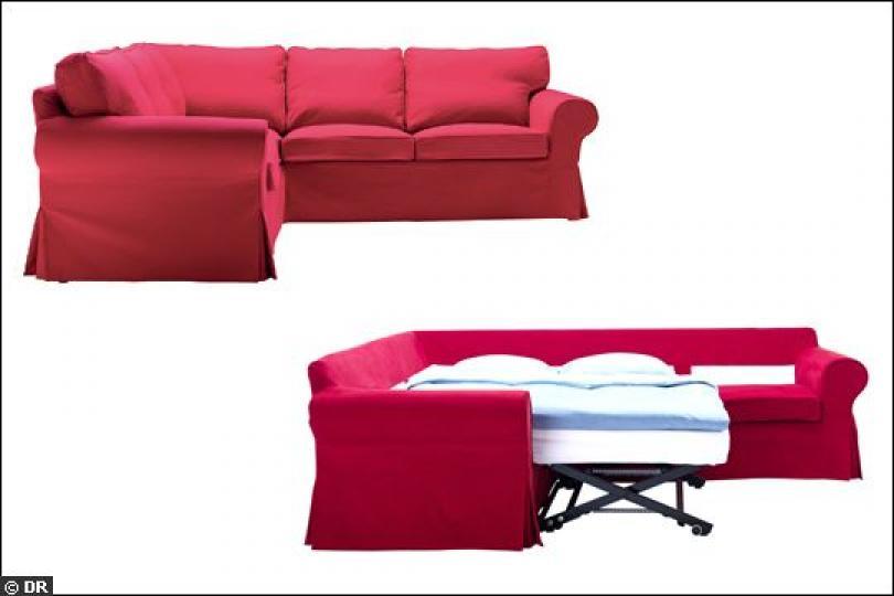 Photos canap d 39 angle convertible ikea ektorp for Ikea canape angle convertible