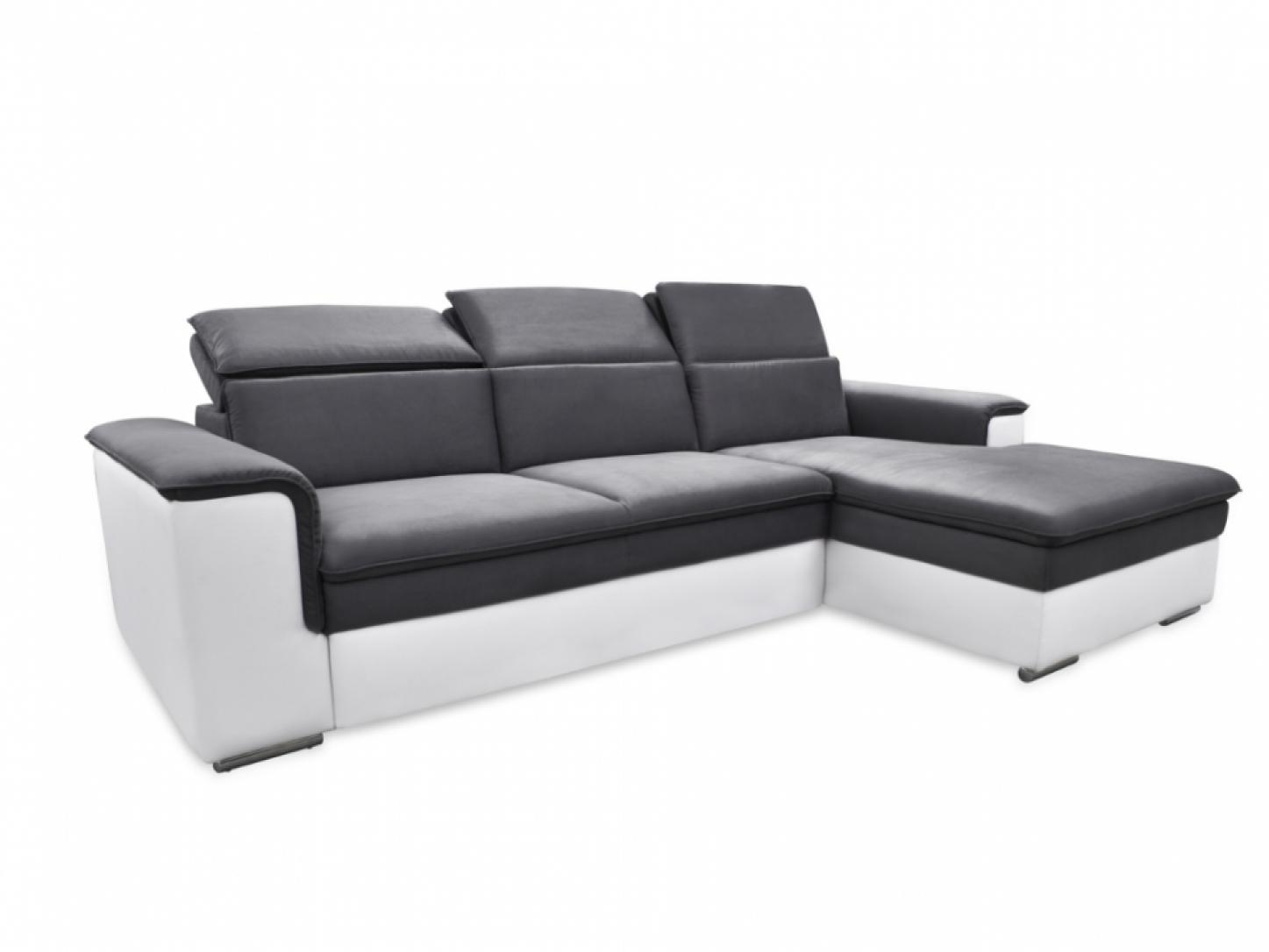 Photos canap d 39 angle convertible cuir but - Canape cuir confortable ...