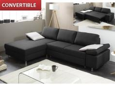 canapé d'angle convertible gris anthracite 15