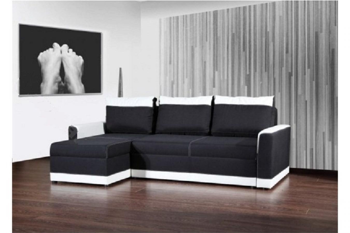canape noir et blanc convertible 28 images canap 233. Black Bedroom Furniture Sets. Home Design Ideas