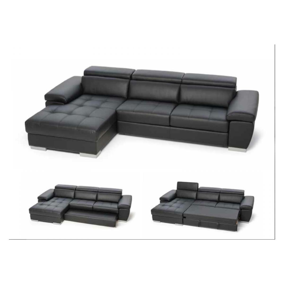 photos canap d 39 angle convertible design simon. Black Bedroom Furniture Sets. Home Design Ideas