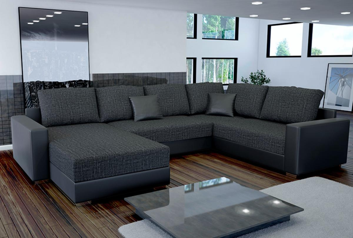 photos canap d 39 angle convertible design massimo. Black Bedroom Furniture Sets. Home Design Ideas