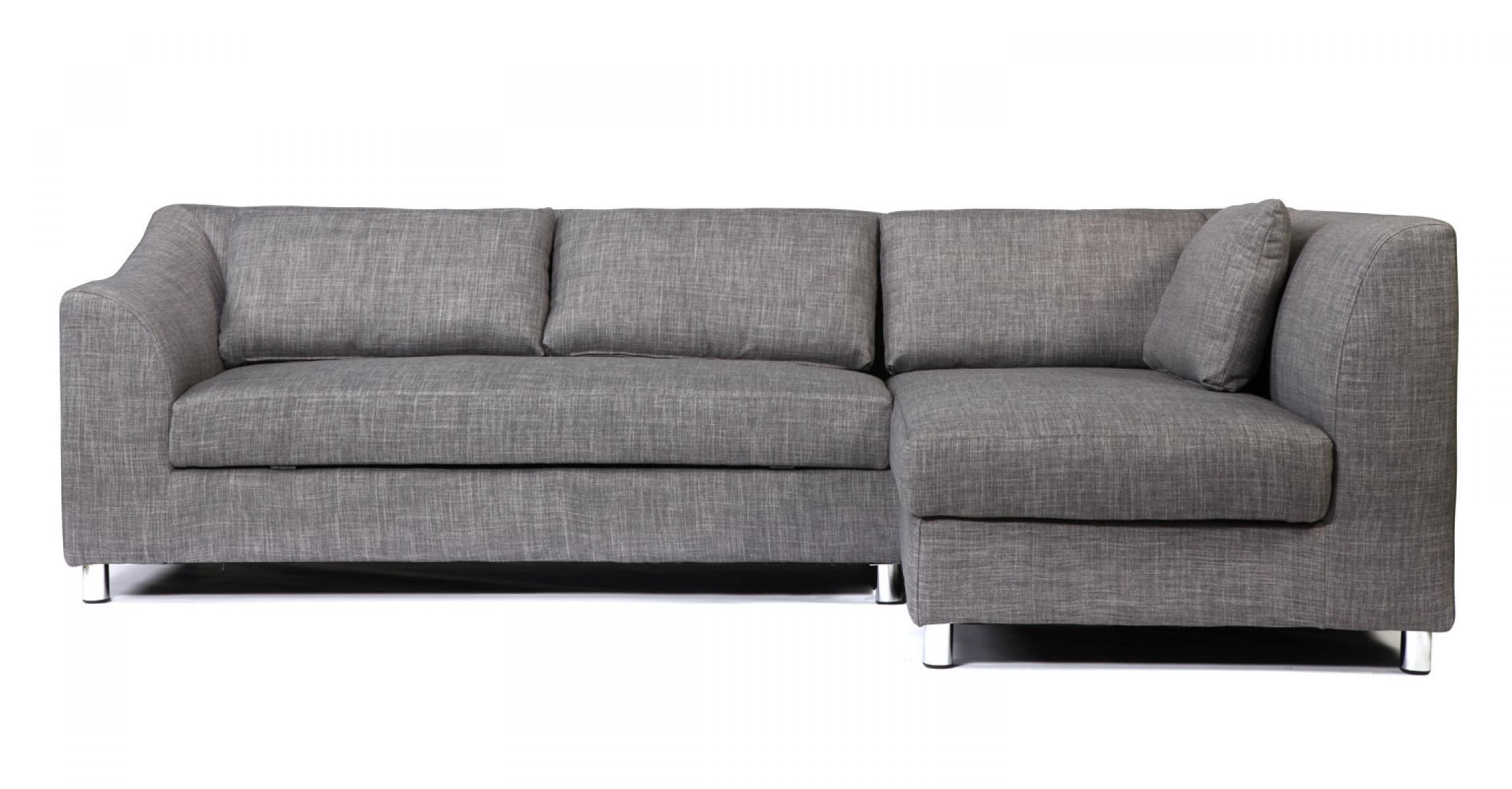 photos canap d 39 angle convertible design gris et noir iowa. Black Bedroom Furniture Sets. Home Design Ideas