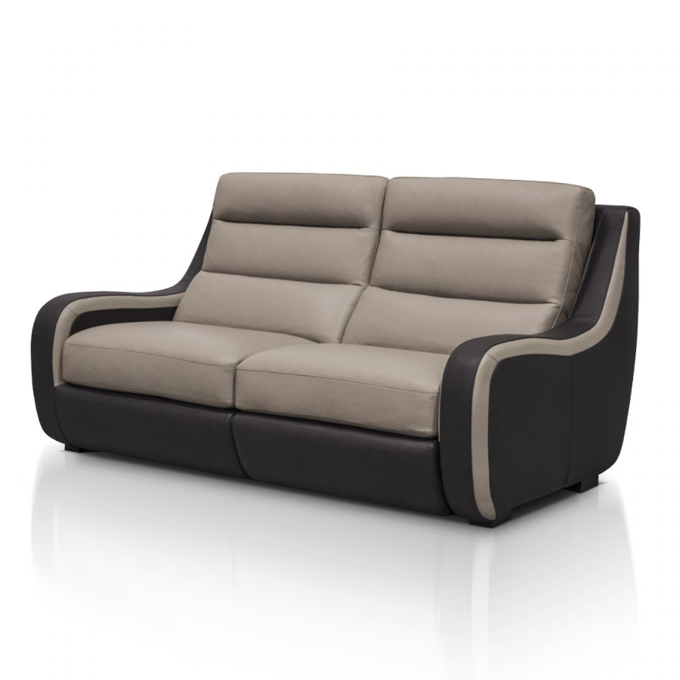 Canape relax places - Canape 2 places relax cuir ...