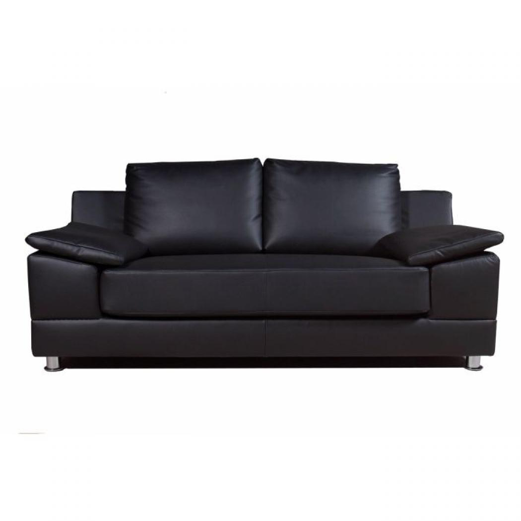 Photos canap 2 places cuir convertible - 2 places convertible ...