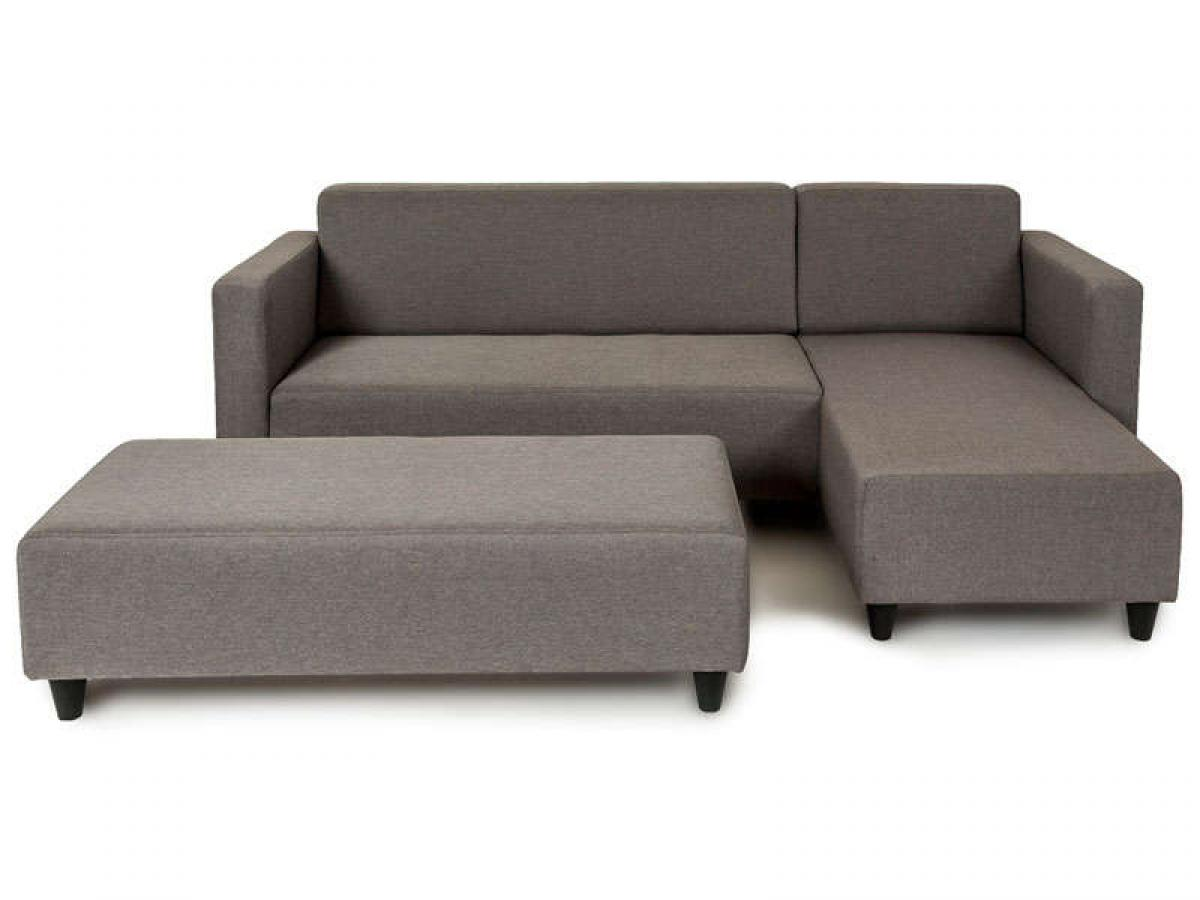 Canap lit convertible couchage quotidien conforama for Canape transformable lit