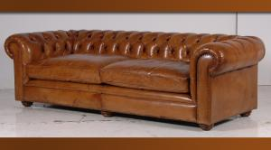 canapé chesterfield cuir 4