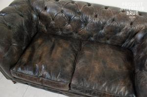 canapé chesterfield cuir 8