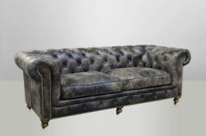 canapé chesterfield cuir 9